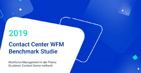 2019 Contact Center WFM Benchmark Studie